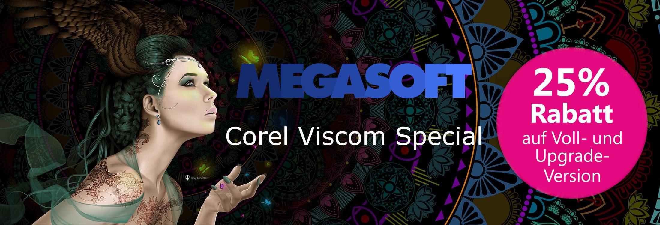 Corel Viscom Special 25% Rabatt